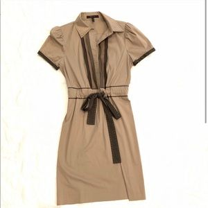 BCBG KAHKI DRESS